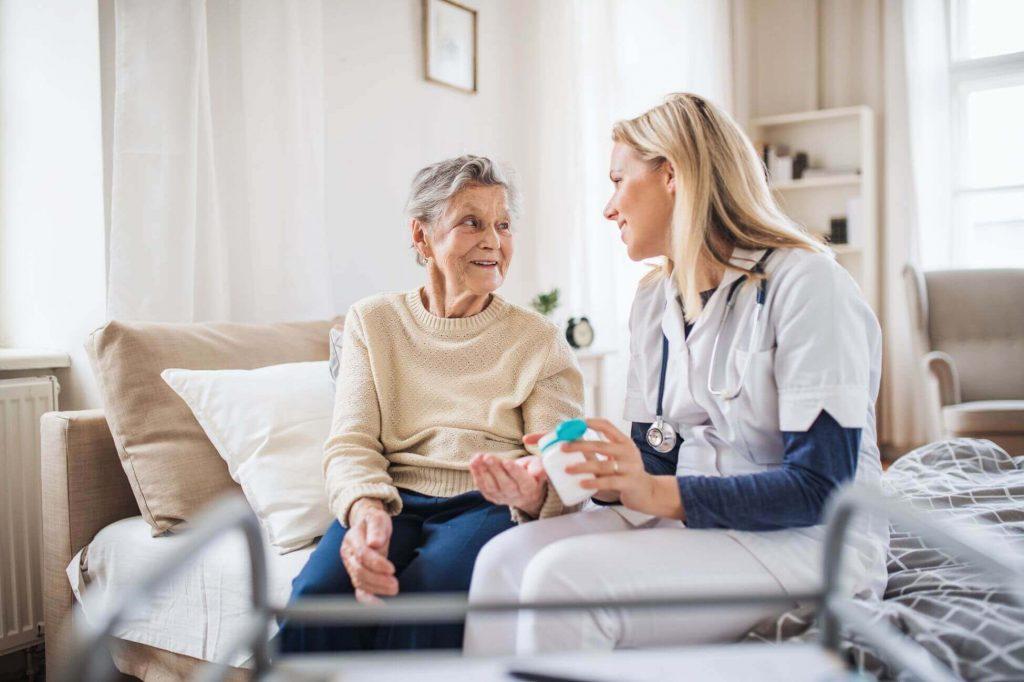 Eine ambulante Kranken- Altenpflege in Kiel